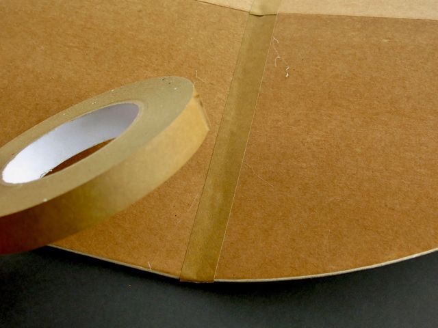 kraft tape black point